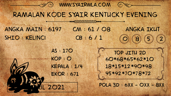 Prediksi Kentucky Evening