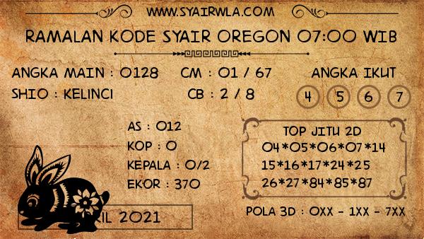 Prediksi Oregon 07:00 WIB