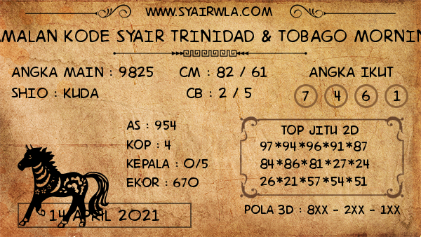 Prediksi Trinidad & Tobago Morning